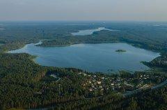 Lilastes ezers. Foto I.Filipova sadarbībā ar Ādažu lidlauku. 2015.gads.