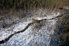 """Puskas upe Aizsargājamo ainavu apvidus """"Ādaži"""" teritorijā."""