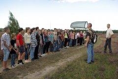 """Dabas mācību stunda Aizsargājamo ainavu apvidus """"Ādaži"""" teritorijā.  2014.gads."""