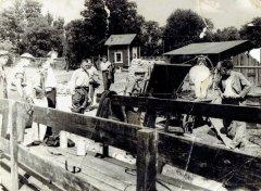 Alderu piestātne. 20.gs. 50.gadi.