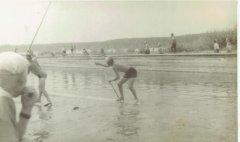 Alderu plostnieku sacensības Gaujas - Baltezera kanālā. 20.gs. 50.gadi.