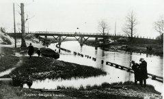 Gaujas - Daugavas kanāla posms Bukultos. Foto: 20.gs. 20.gadi.