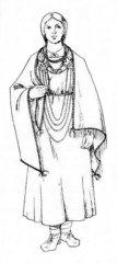 Upi Gauju 17.gadsimtā sauca Ad. Vārds Ādaži veidots Ad+ aži. Gaujas līvu sieviete 10.-12.gadsimtā. Pēc arheoloģiskajām liecībām tapis A.Zariņas zīmējums.