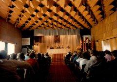 Kolhoza ''Ādaži'' darbinieku sanāksme Kultūras nama zālē. 1985.gads.