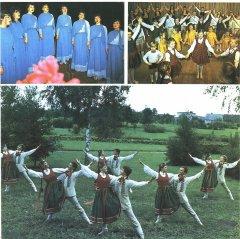 1986.gadā Ādažos darbojās 18 pašdarbības kolektīvi ar 465 dalībniekiem. Attēls no brošūras ''Agrofirma Ādaži'' 1987.gads.