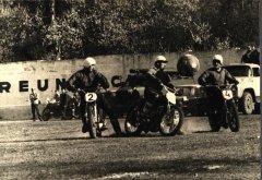 Motobola komanda ''Ādaži''. Foto ap 1969.gadu.