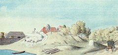 Ādažu ordeņpils drupas. J.K.Broces zīmējums.1798.gads. Neiermīles jeb Bukultu dzirnavas turpināja darboties līdz 1894.gadam. Vēlāk līdz 1910.gadam - kā kokzāģētava.