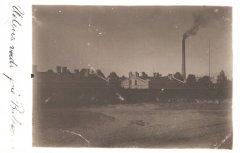 Baltezera sūkņu stacija ap 1915.gadu. Visas sūkņu stacijas iekārtas bija ražotas tikai Rīgas rūpnīcās.